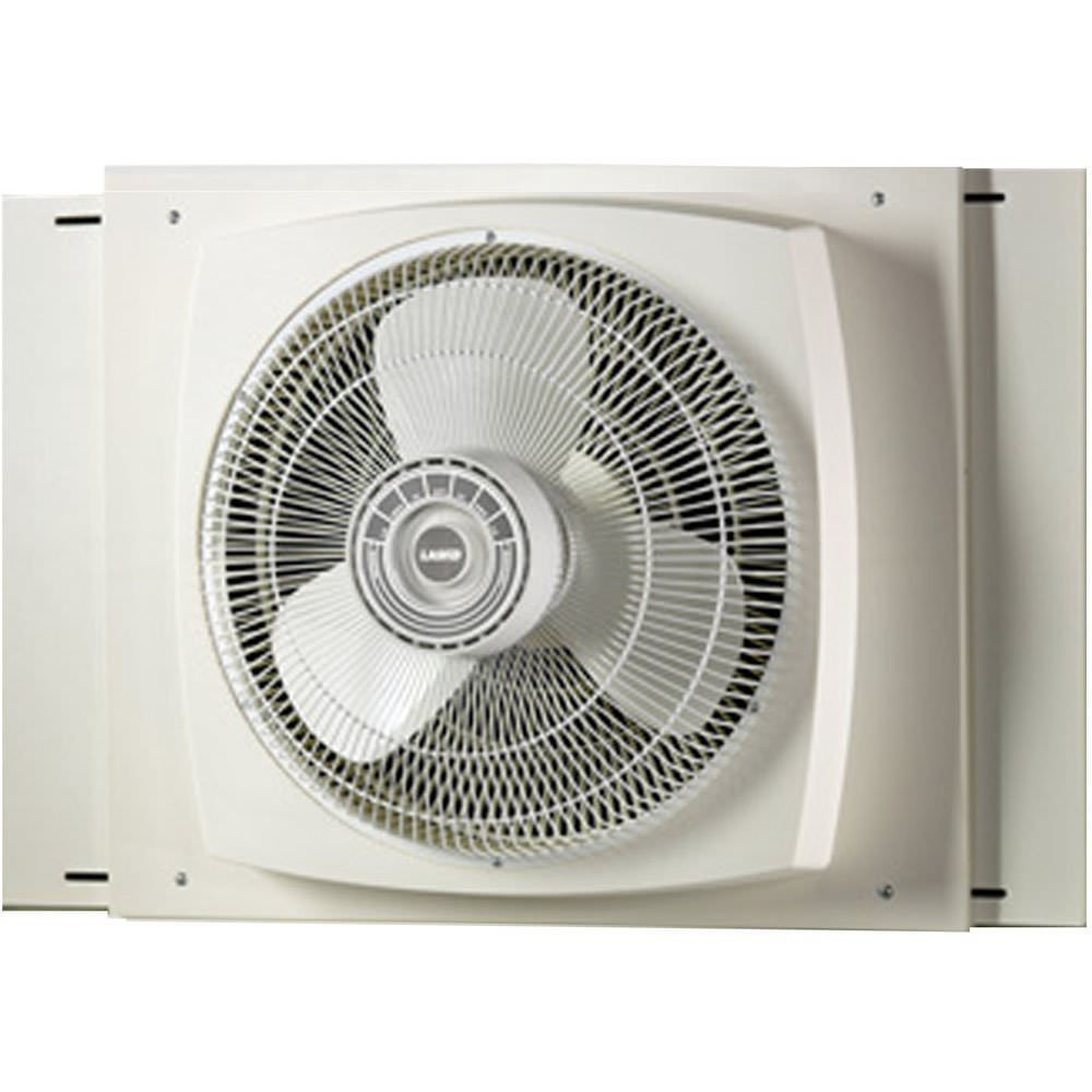 Lasko #2155A Electrically Reversible Window Fan, 16 Inches