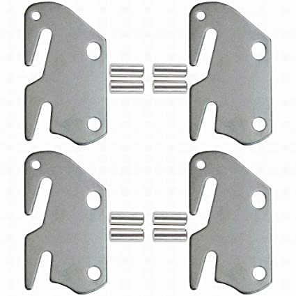 Bed Frame Parts >> Amazon Com 10 Hook Plates For Wooden Beds Frame Bracket Headboard