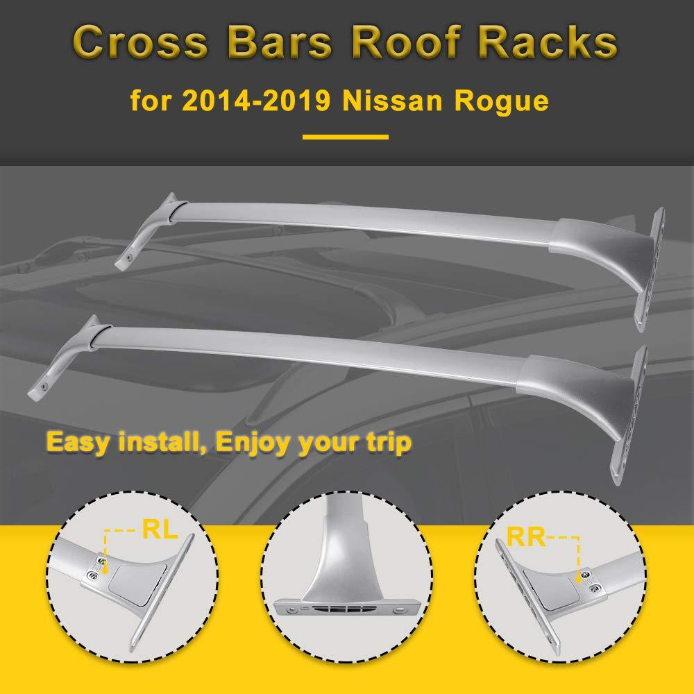 Amazon.com: LEDKINGDOMUS - Estantería de techo para Nissan ...