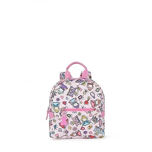 comprar popular 9fd68 49266 Tous Mochila mini School Princess de Lona en color rosa ...