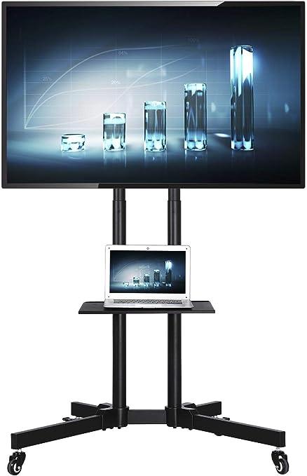 yaheetech versátil TV carro soporte para televisores LCD LED ...