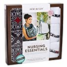 Bebe au Lait Premium Cotton Nursing Essentials Set, Amalfi
