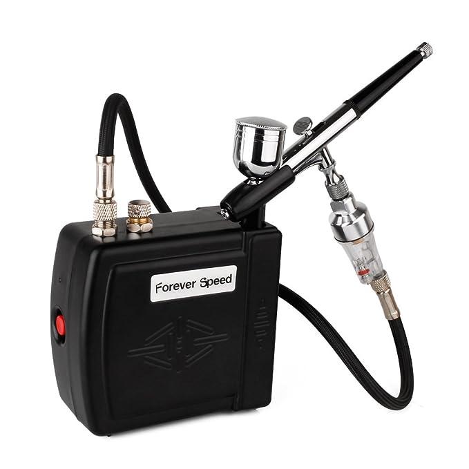 1 opinioni per Forever Speed Compressore Aerografo Professionale Aerografo Kit, Aerografo
