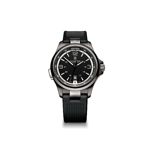 Victorinox 241596 - Reloj de pulsera hombre, Caucho, color Negro: Victorinox Swiss Army: Amazon.es: Relojes