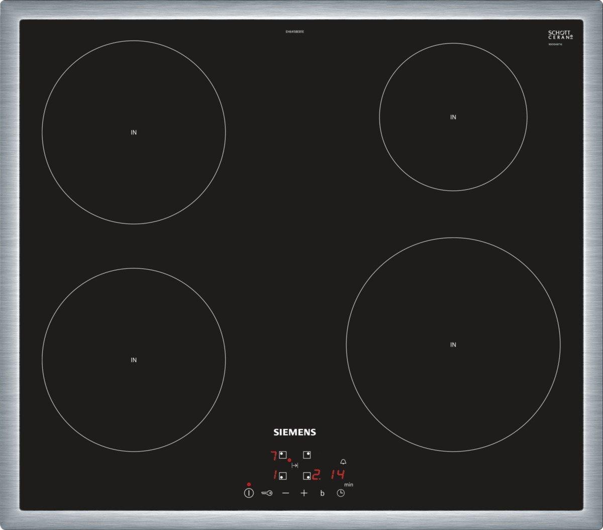 Siemens eh645beb1e iq100 hobs eléctrico/vitrocerámica/vidrio y ...