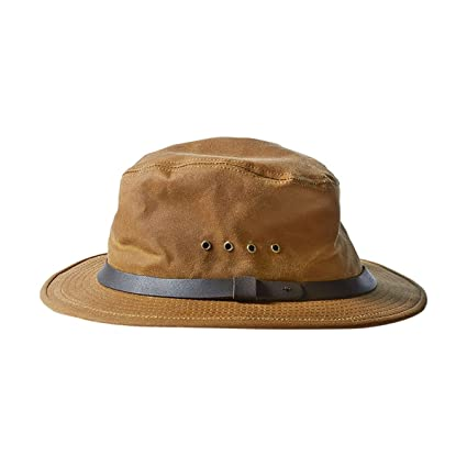 57c381fc4e30d Image Unavailable. Image not available for. Color: Filson Mens Insulated Tin  Cloth Packer Hat ...
