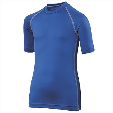 Rhino Rhino RH02B Juniors Short Sleeves Base Layer Tee Tshirts Kids Sports Wear
