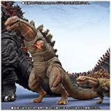 S.H.MonsterArts Godzilla (2016) second form & third form set