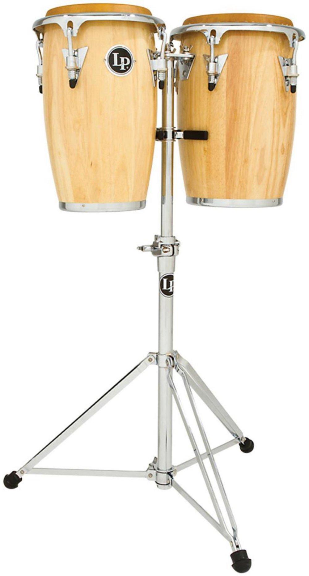 Latin Percussion LP-JRX-AW Conga Drum Natural / Chrome