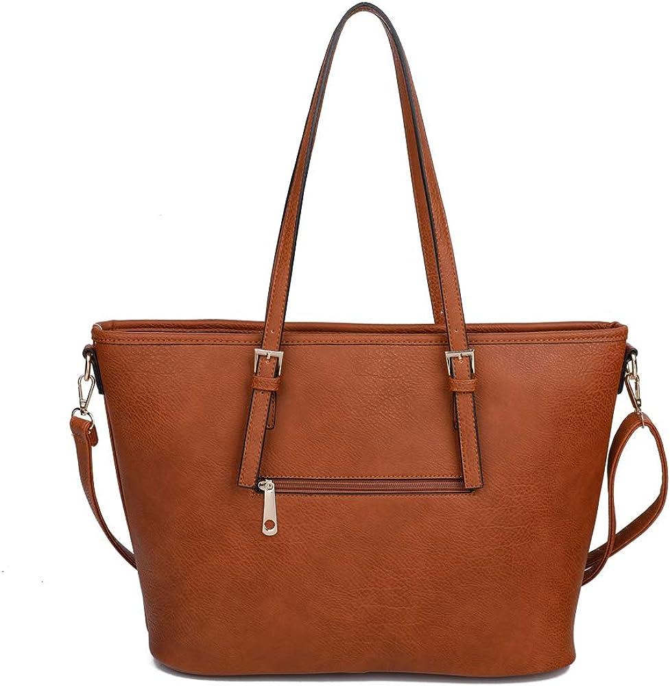 Craze London New Women//Ladies Fashion Tote Handbag Crossbody Shoulder Purse Tote Bag for Work Different Colors