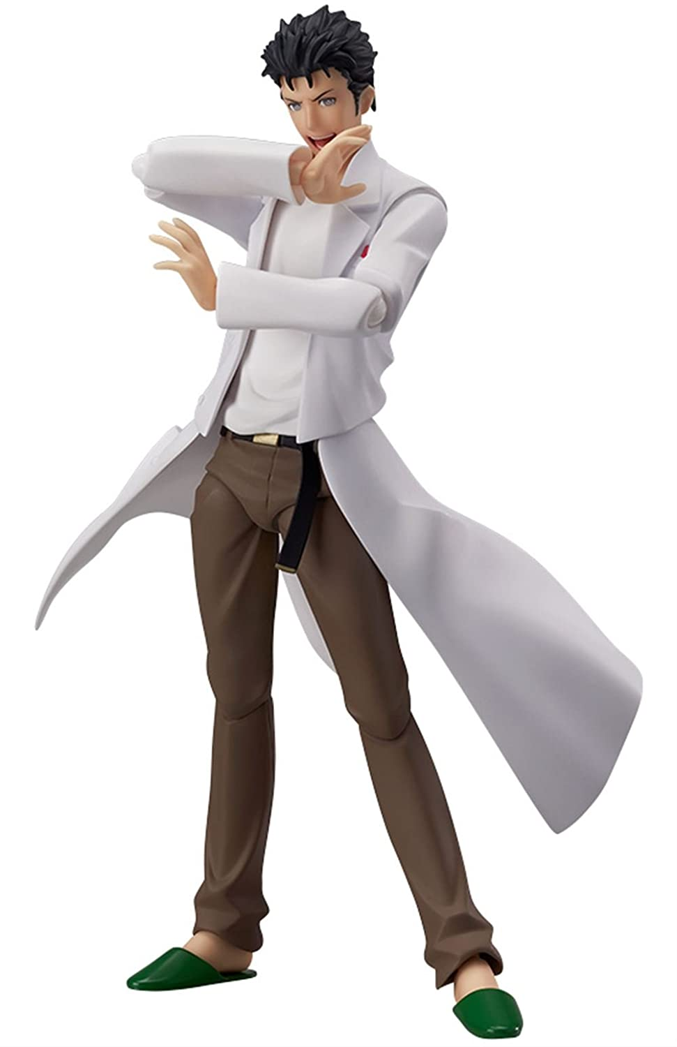 figma Stein's Gate Okabe Rintaro (non-scale ABS & PVC painted figures moving) (japan import) Max Factory MAY138404