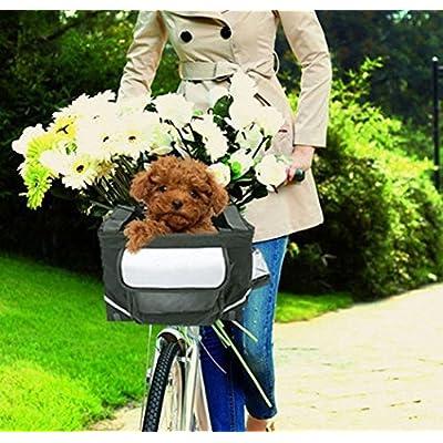 Cat Basket Hi Suyi Multifunction Bicycle Bike Pet Basket Carrier for Cat Dog [tag]