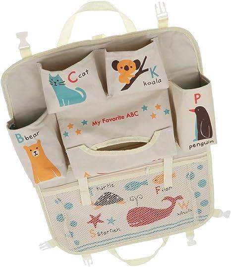 Baoblaze Organizador de Almacenamiento de Vehículos Bolsa Juguetes de Primera Infancia Juegos de Mesa - ABC Animals, 52 x 41.5cm: Amazon.es: Bebé