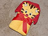 Personalized Boy Tiger Hooded Towel