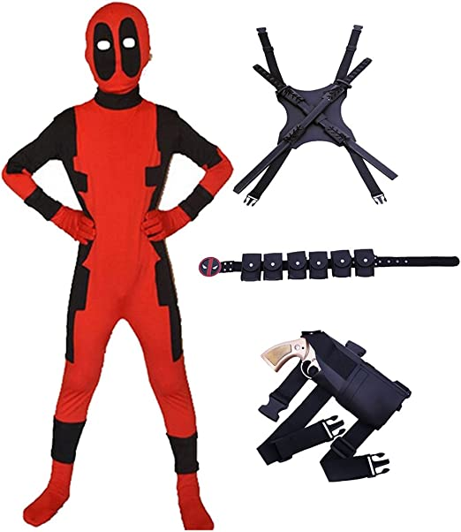 Disfraz de Halloween para Jóvenes Mono Largo de Spandex Bodyuit ...