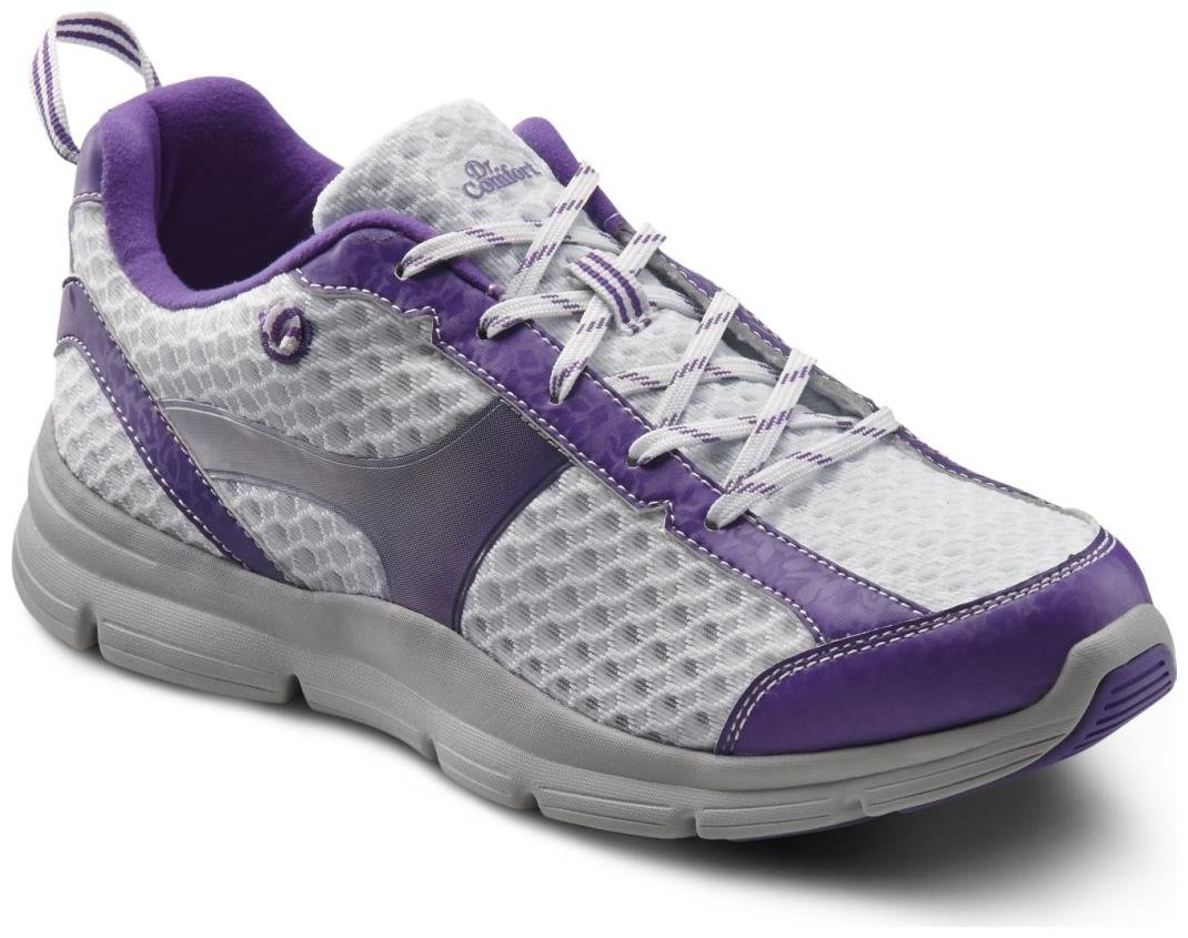 Dr. Comfort Meghan Women's Therapeutic Extra Depth Athletic Shoe: Purple 10 X-Wide (E-2E) Lace by Dr. Comfort
