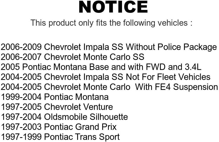 Front Suspension Control Arm And Tie Rod End Kit For Chevrolet Impala Pontiac Grand Prix Venture Montana Monte Carlo Oldsmobile Silhouette Trans Sport