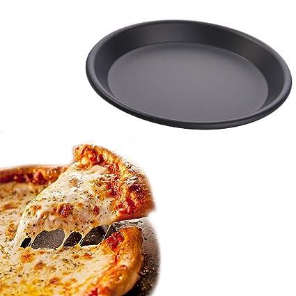 Bandeja para Hornear Bandeja para Pizza Bandeja para Pizza Redonda No pegajosa Bandeja para Galletas Mantenga