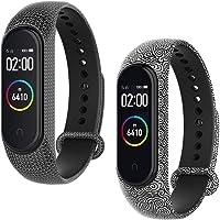 WD&CD Horlogeband Compatibel met Xiaomi Mi Band 3/4