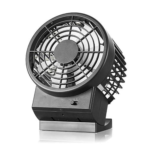 """6 opinioni per Zindoo Ventilatore USB Mini Ventilatore da Tavolo Design compatto (4.7 """") con"""