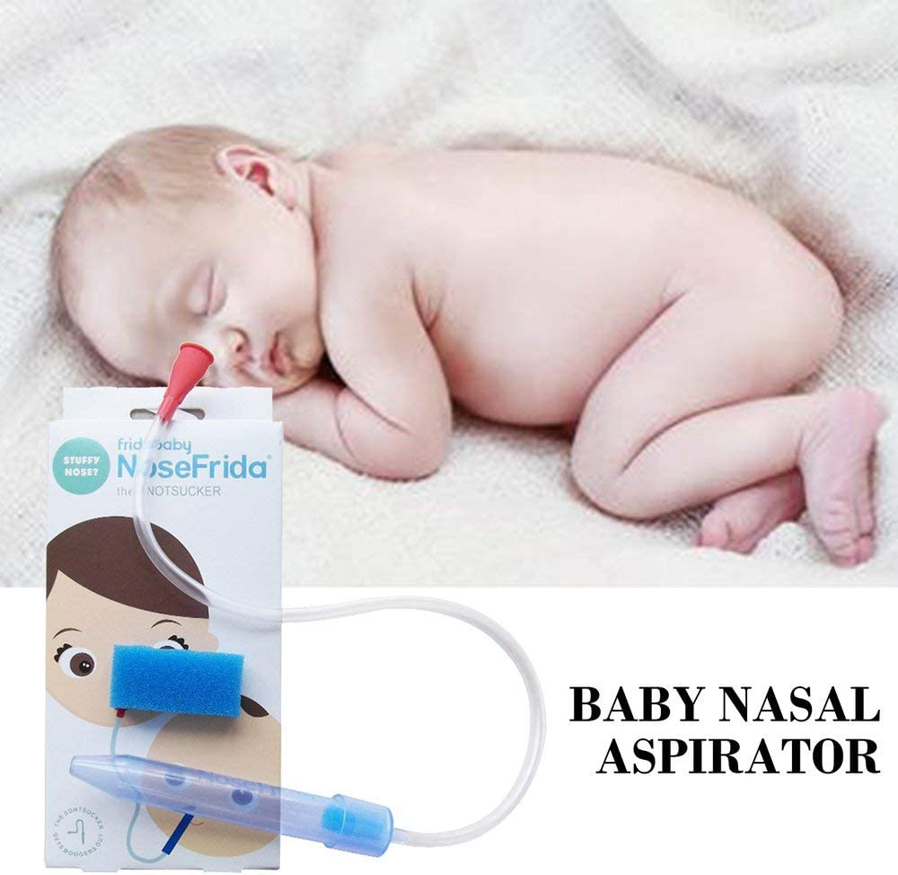 Amerryllis Portable Nose Cleaner Vacuum Suction For Baby Soft Tip Children Infant Safety Care Absorption Nasal Aspirator