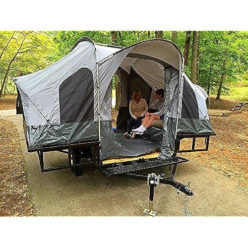 Double Duty Utility Tent Trailer - The Trailer of a Lifetime  sc 1 st  Amazon.com & Trailer Tent: Amazon.com