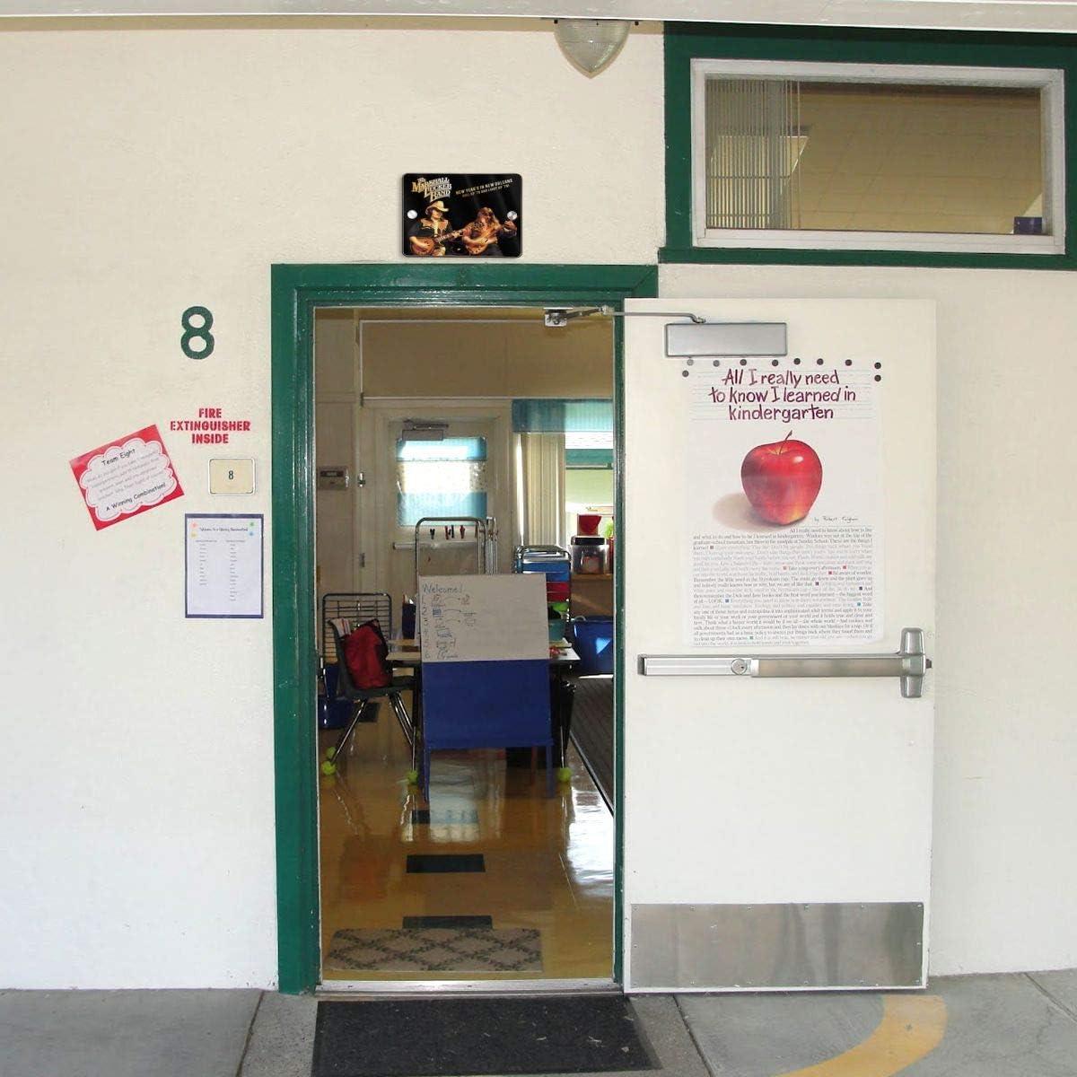 NOT Marshall Tucker Band Fashion Stylish Door Sign 5.5X7.5 in