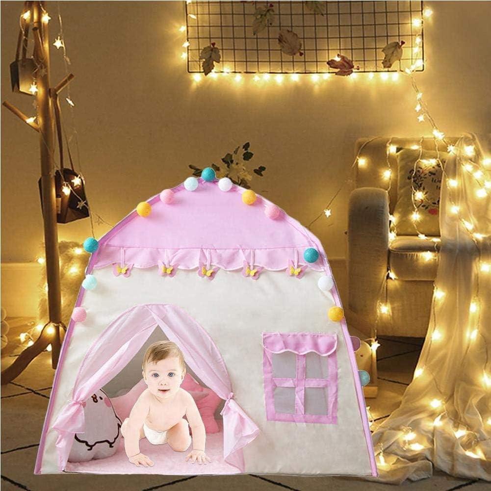 WGXY Tenda da Gioco per Bambini Portatile Tenda per Bambini di Grandi Dimensioni Casa da Gioco da Principessa per Bambini Casa da Tenda per Bambini 3-4 Casa da Gioco per Bambini da Interno