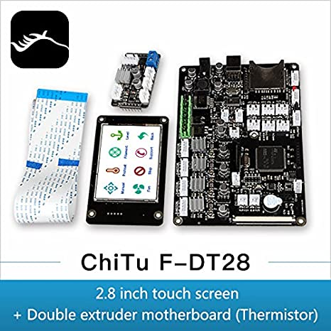Amazon com: peakmall 3D Printer Controller Chitu V3 9 DT28