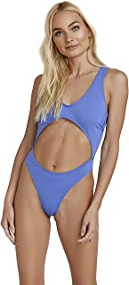 product image for Dippin' Daisy's Rounded Neckline Sexy Midriff High-Leg Cut Bikini Bathing Swimsuit for Women