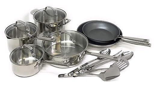 Amazon.com: Emeril Lagasse - Juego de utensilios de cocina ...