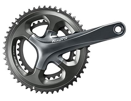 71f633bd1b5 Amazon.com : SHIMANO Tiagra 10-Speed Double Road Bicycle Crank Set ...