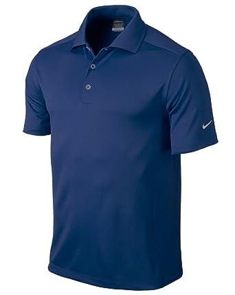 Nike Golf Dri-Fit Solid Polo College Navy XL by Nike: Amazon.es ...