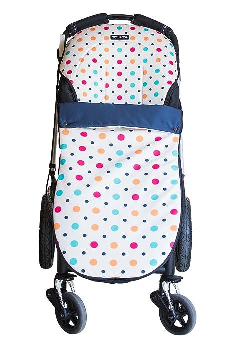 Tris&Ton Sacon convert 2 en 1 silla de paseo para bebe modelo Topitos claro, saco