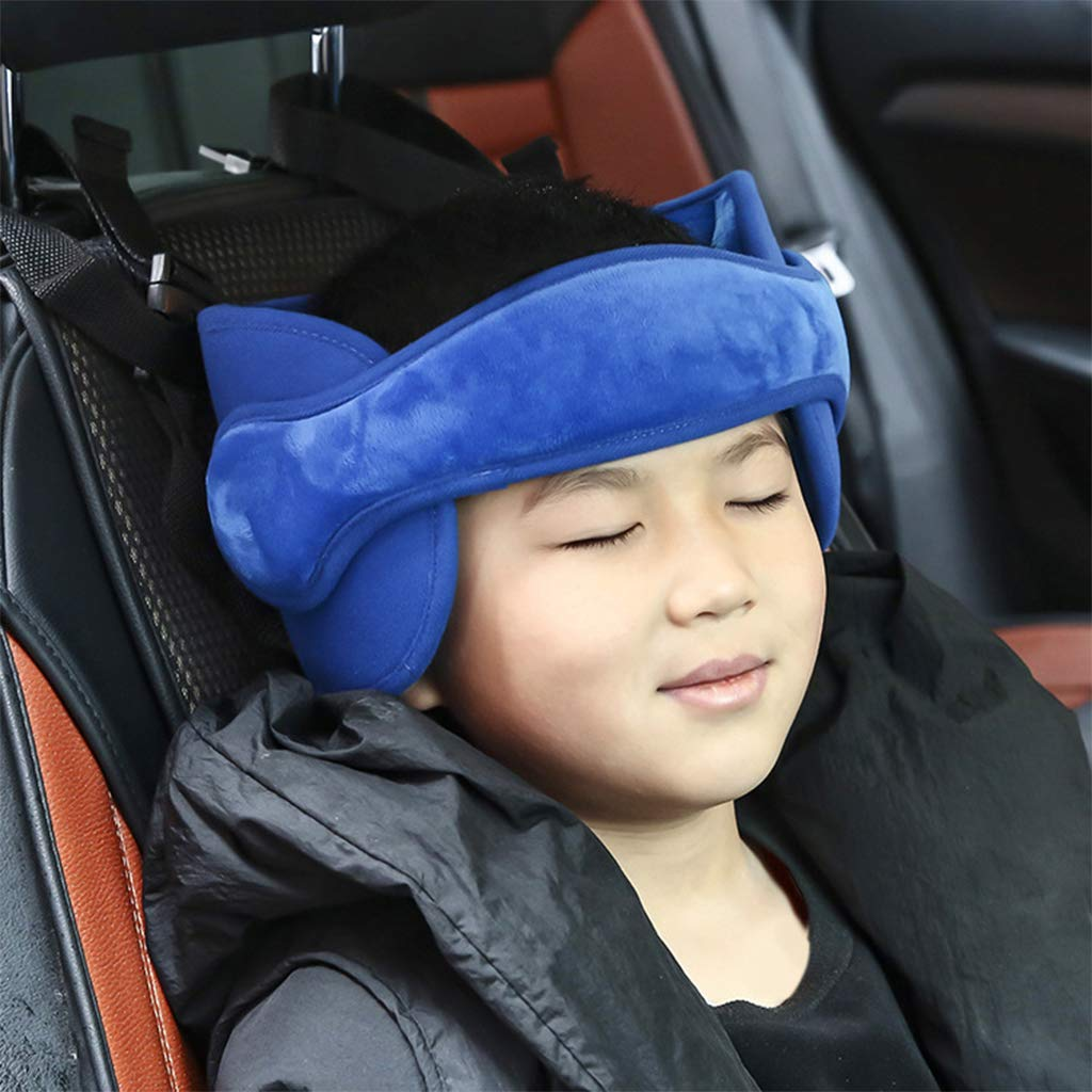 FATTERYU Baby Kids Head Neck Support Car Seat Belt Safety Headrest Pillow Pad Protector Restraint For Children Sleep Assisted