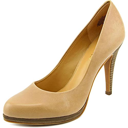 b0ee72ce2a9 Nine West Women s Rocha Leather Dress Pump  Buy Online at Low Prices ...