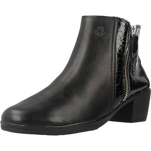 Botas para Mujer, Color Negro, Marca 24 HORAS, Modelo Botas para Mujer 24 HORAS 23409 Negro: Amazon.es: Zapatos y complementos