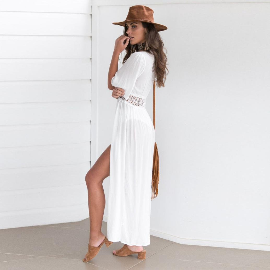 Amazon.com: Lookatool vestido, mujeres Bikini Swimwear Cover ...