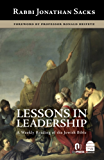 Lessons in Leadership: A Weekly Reading of the Jewish Bible (English Edition)