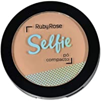 Ruby Rose Selfie 03 Bege Médio - Pó Compacto