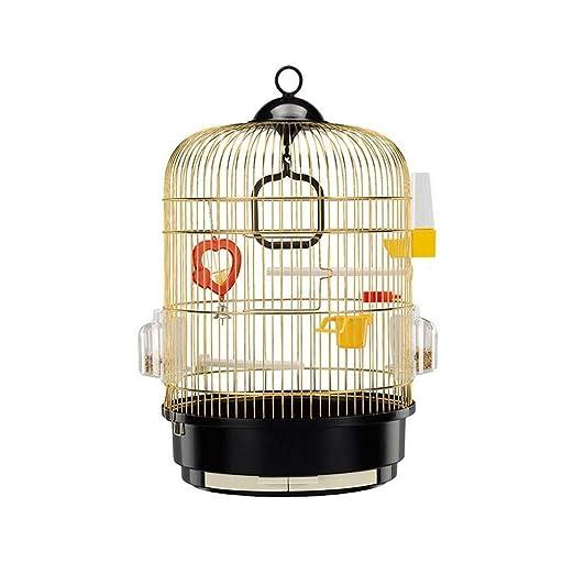 Jaula de pájaros de Acero Inoxidable de Metal Grande Jaula de cría ...