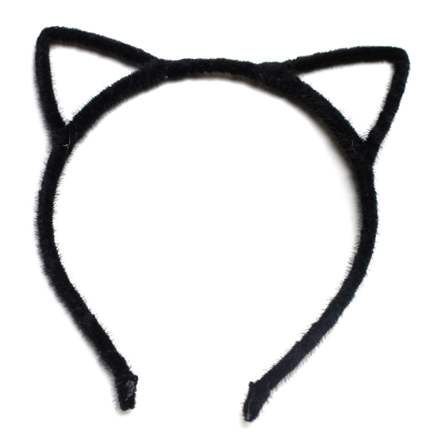 Black Hens Night Party Alice Band Cat Ear Headband Hair Women Hair Accessories Design Party Felt Wire blackcatears