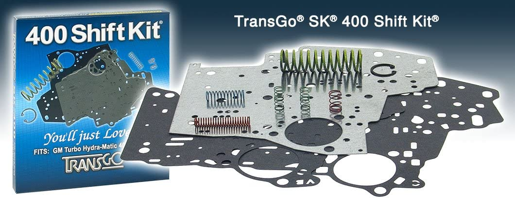 THM 400 TRANSGO Shift Kit Valve Body Rebuild Kit 65-up