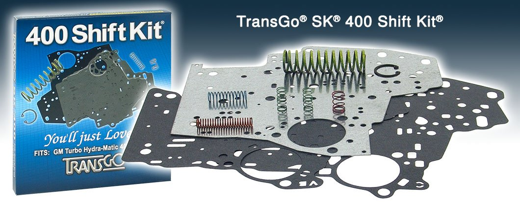 TransGo SK400 Shift Kit -- TH400 Turbo 400 Transmission 1965 and Up