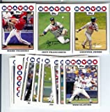 Atlanta Braves Baseball Cards - 6 Years Of Topps Team Sets 2004,2005,2006,2007, 2008 & 2009 - Includes ALL regular issue Topps Cards For 6 Years - Includes Stars, Rookie Cards & More!