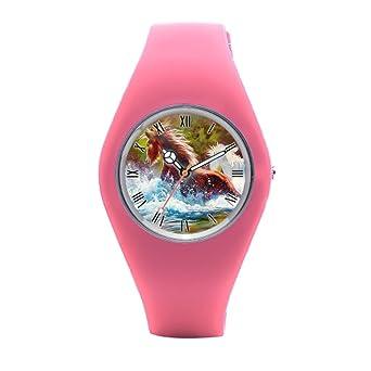 TimetoShine Wrist Watch For Women Western Horse Kids Sports Watch