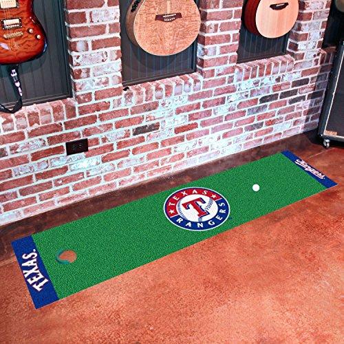 """StarSun Depot Putting Green Mat Texas Rangers 18""""x72"""""""