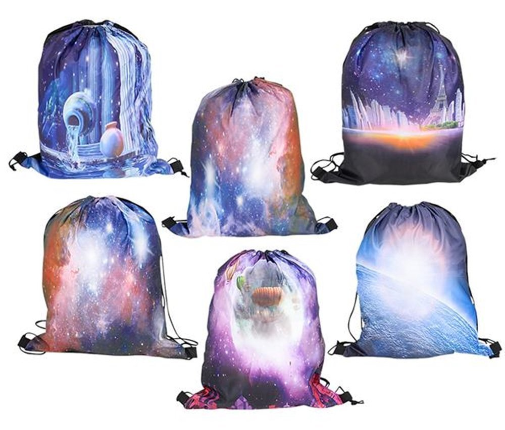 tote bags 17 GALAXY BACKPACKS 12 pack Space theme party supplies toyco