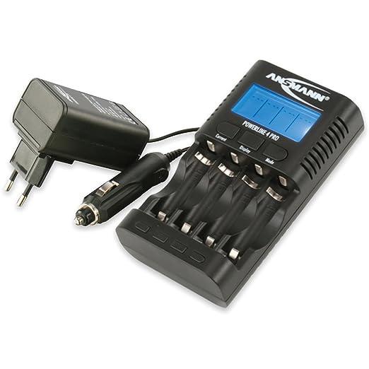 25 opinioni per ANSMANN Powerline 4 Pro Caricabatterie per 1-4 Batterie Stilo AA / Micro AAA-