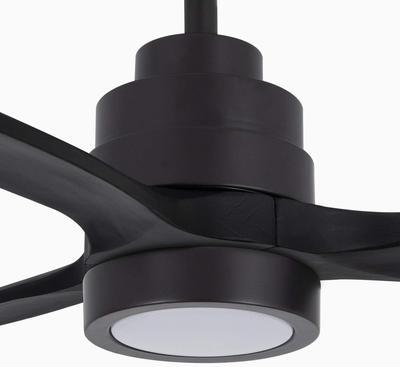 Ventilador de Techo 40W DC Reverse con Luz IKOHS WINDLIGHT Black